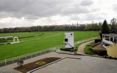 Windy FUD Bolęcin w nowo otwartej Trybunie Honorowej na torze wyścigów konnych na Służewcu